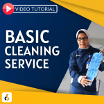 Video Tutorial Basic Cleaning Service