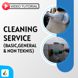 Video tutorial cleaning service (basic & general)