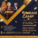 quran camp adalah sarana bagi kalian untuk belajar al quran dengan metode yang seru dan menyenangkan