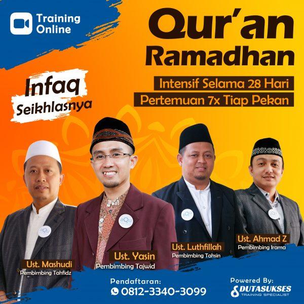 training quran ramadhan